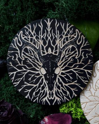 Deer Skull coaster