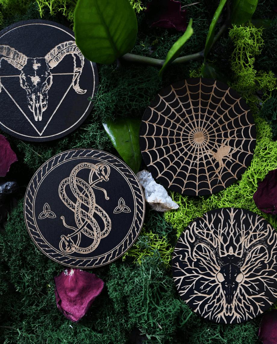 Mystic coaster set